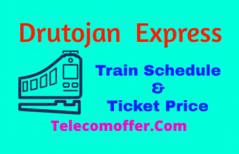 Drutojan Express Train Schedule & Ticket Price In 2019