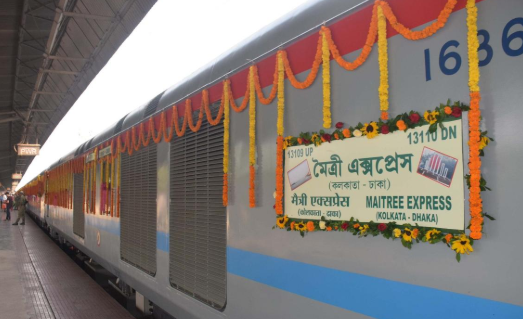 Maitree Express Dhaka to Kolkata Train Schedule & Online Ticket