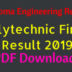 Polytechnic Diploma Engineering Result