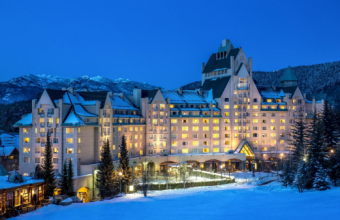 The Best Canadian Skiing Hotel in Canada